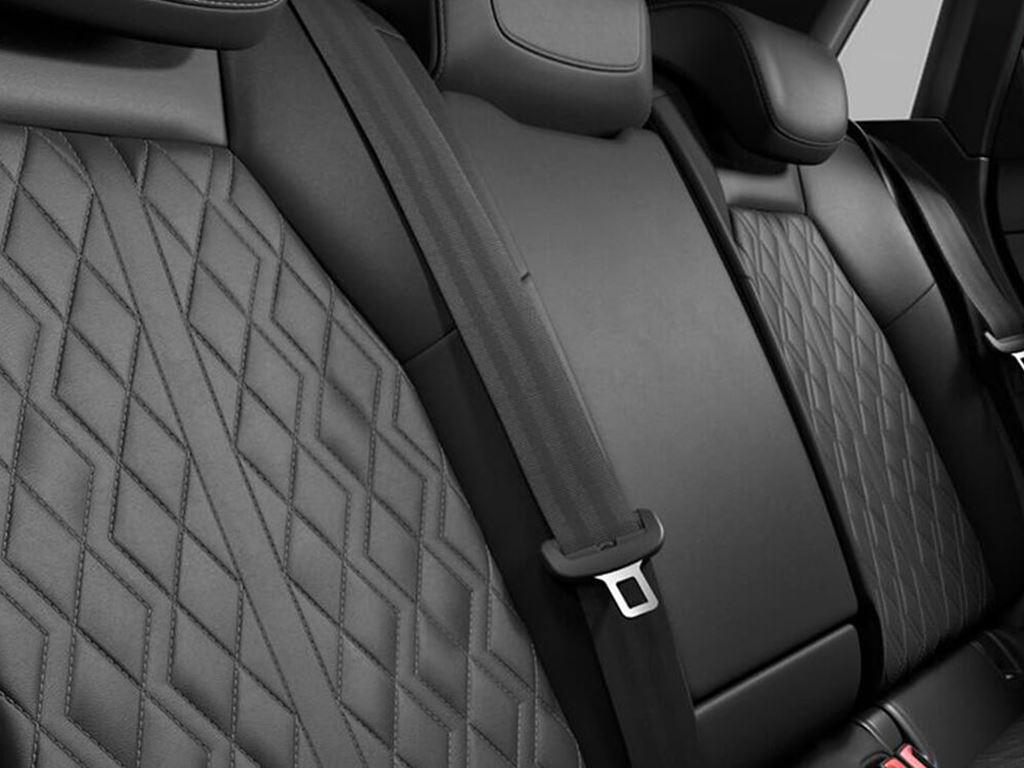 New Audi S3 Sportback Rear seats