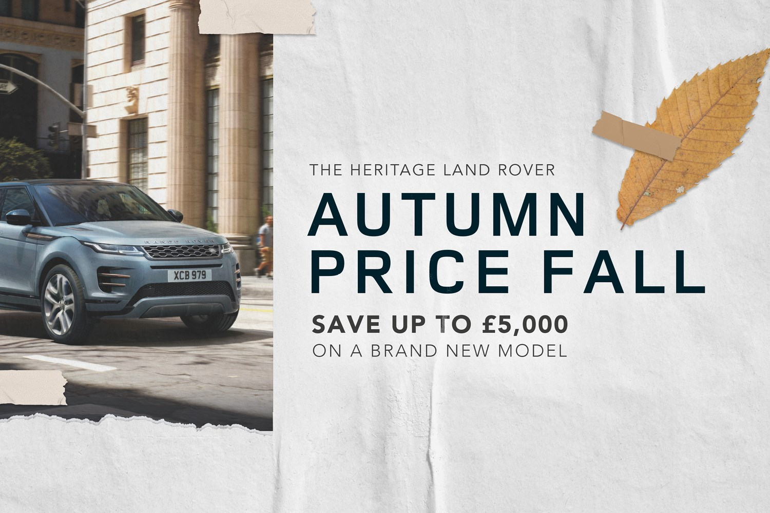 Land Rover Autumn Sale Banner