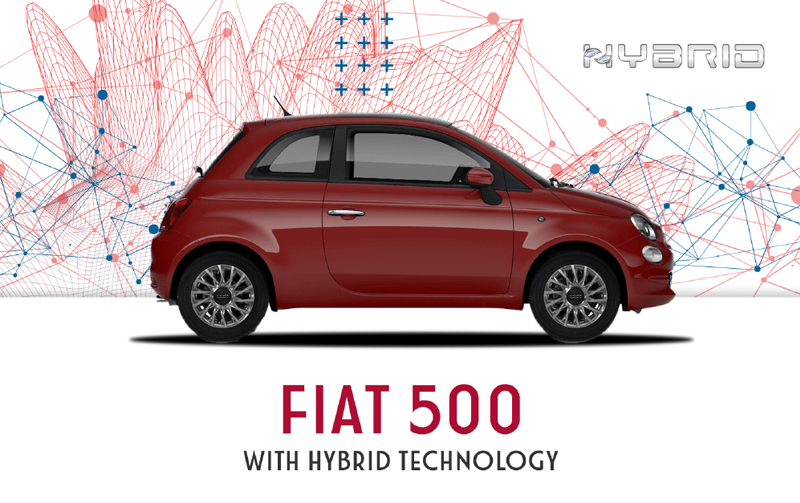 Fiat 500 Hybrid from £99pm