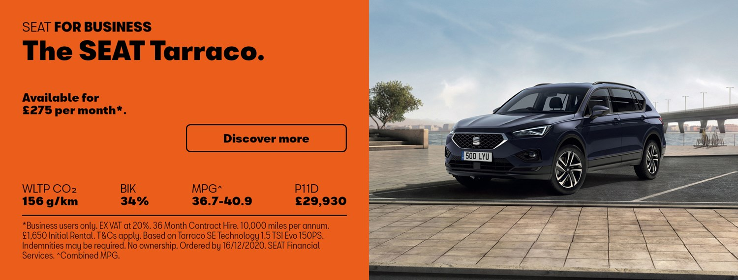 SEAT Tarraco with Business Offer