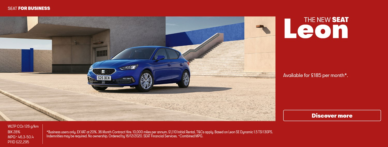 New SEAT Leon with business offer