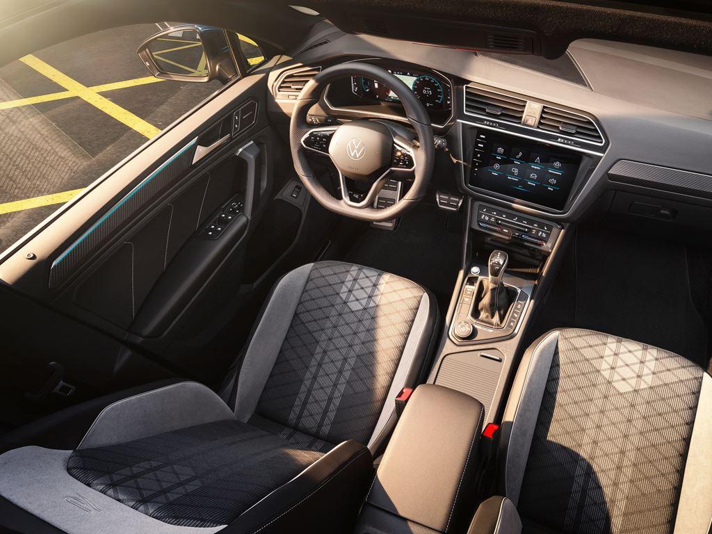 New VW Tiguan Interior ariel view