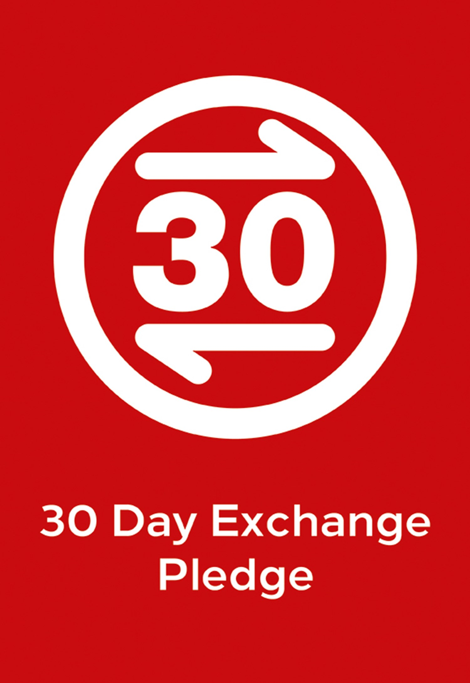 30 Day Exchange Pledge  We believe in our cars. That's why if your car develops a mechanical or electrical fault in the first 30 days of ownership that can't be repaired to a satisfactory standard, we'll exchange it for another Network Q vehicle of the same value.