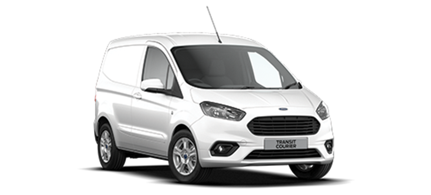Ford Transit Courier Limited in Frozen White