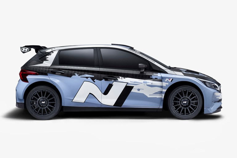 Hyundai Motorsport Customer Racing reveals i20 N Rally2 car