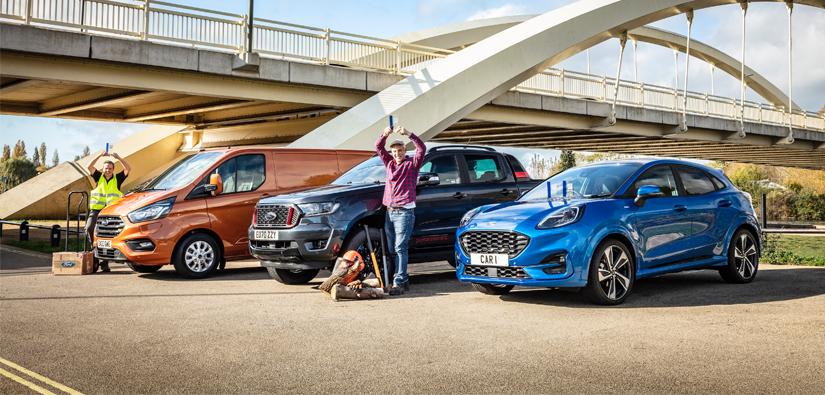 Ford Wins Award Hat-Trick