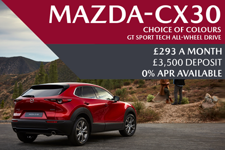 GET A GRIP THIS CHRISTMAS - CX-30 ALL-WHEEL DRIVE OFFER
