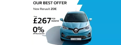 New Renault Zoe - Best Value at Richard Sanders