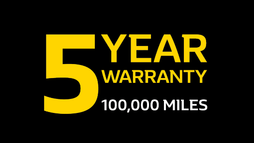 Renault's New 5 Year Warranty