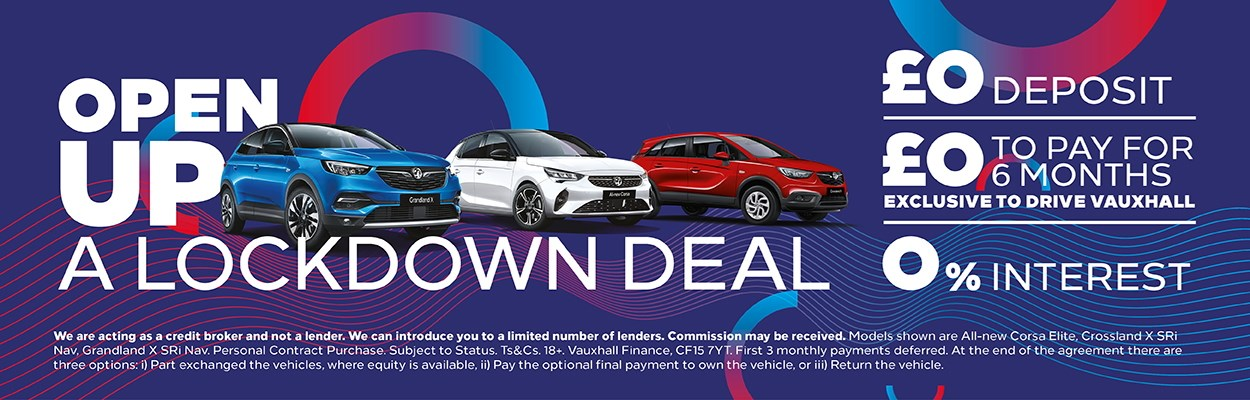 Lockdown Offer 0% Interest | £0 Deposit | £0 to pay for 6 months