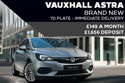 New Vauxhall Astra Light - Now £149 A Month