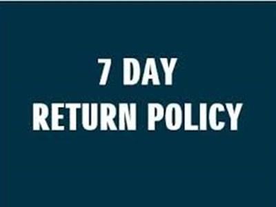 Suzuki 7 Day Return Policy