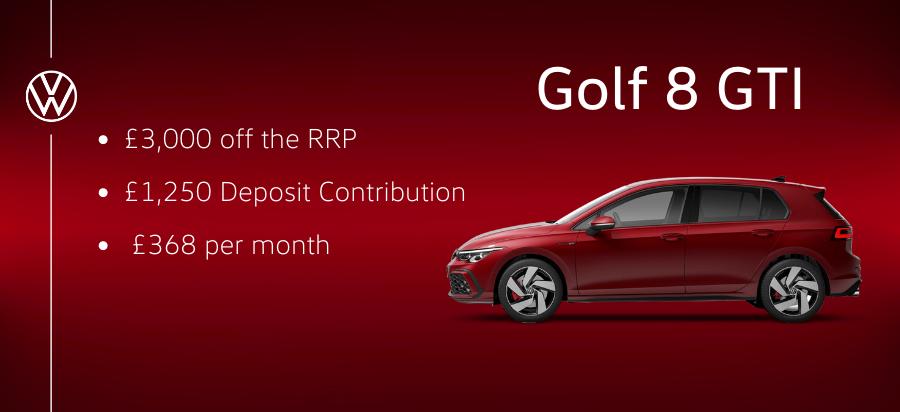 Saving Offer - Golf GTI