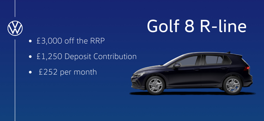 Saving Offer - Golf R-Line