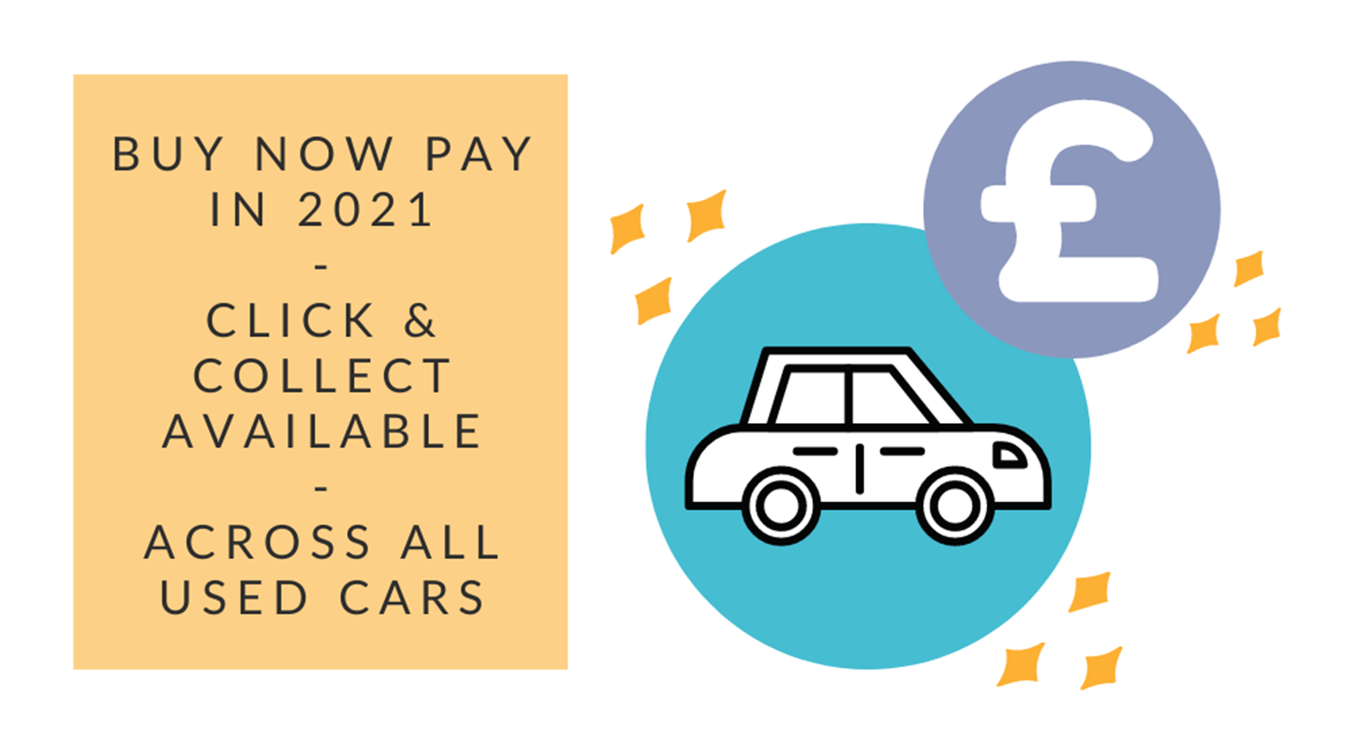 buy now pay later on all used cars offer