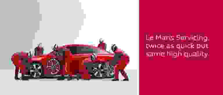 Le Mans Servicing at Brighton Audi