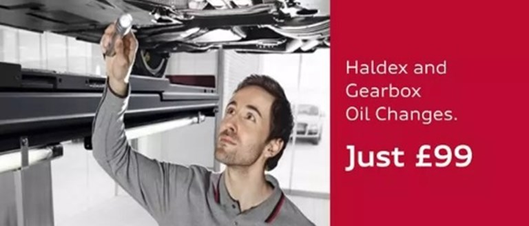 Haldex & Gearbox Oil Changes