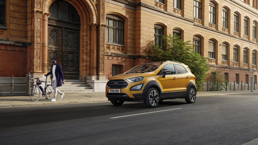 Ford EcoSport Active: Latest addition to Ford's small SUV range unveiled