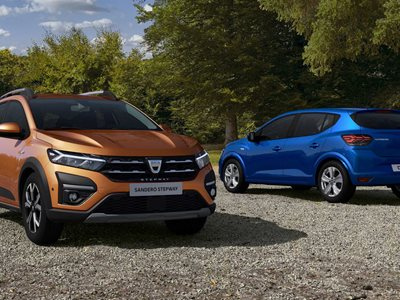 2021 Dacia Sandero And Logan – First Official Images - Startin Dacia Worcester