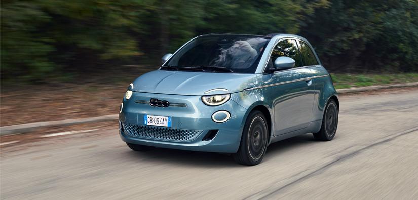 New, 100%-electric, Fiat 500 Range