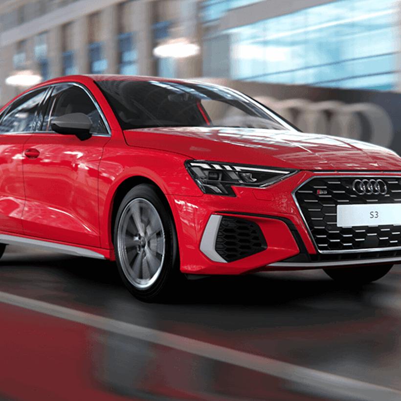 New Audi S3 Saloon