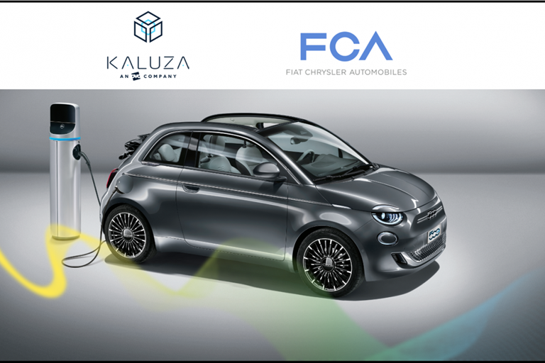 FIAT CHRYSLER AUTOMOBILES AND KALUZA JOIN FORCES TO EXPLORE ELECTRIC VEHICLE SMART CHARGING SERVICES