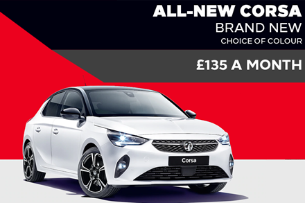 All-New Vauxhall Corsa - £135 A Month | 9 Upfront Payments - PCH