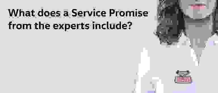Volkswagen Service Promises