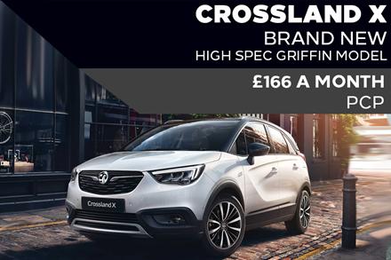 Brand New Vauxhall Crossland X - £166 A Month | £999 Deposit