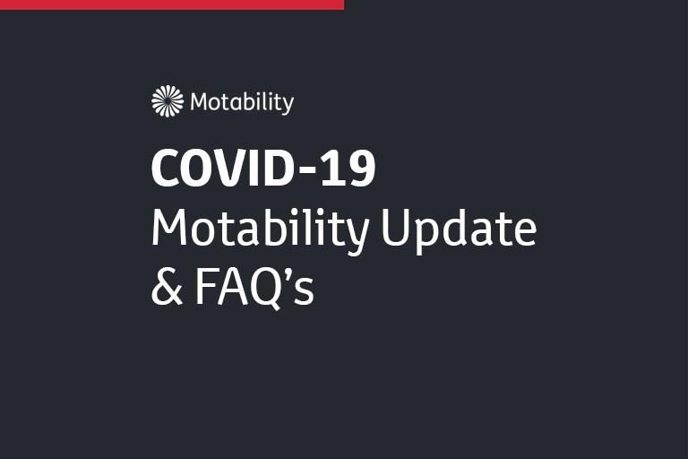 COVID-19 Motability Update