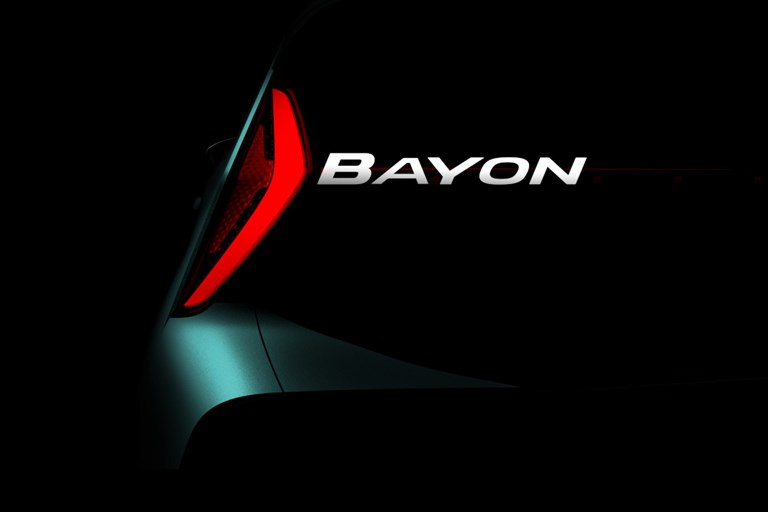 Hyundai Motor announces name of its all-new SUV: Hyundai Bayon