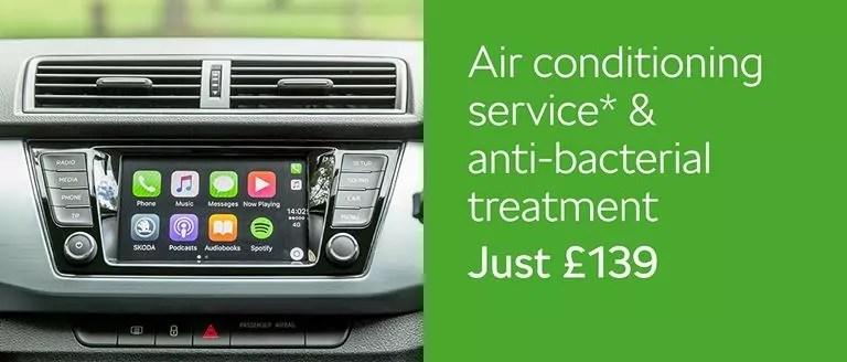 Air Con Service & Anti Bac Treatment