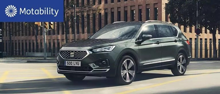 SEAT Tarraco Motability Offers