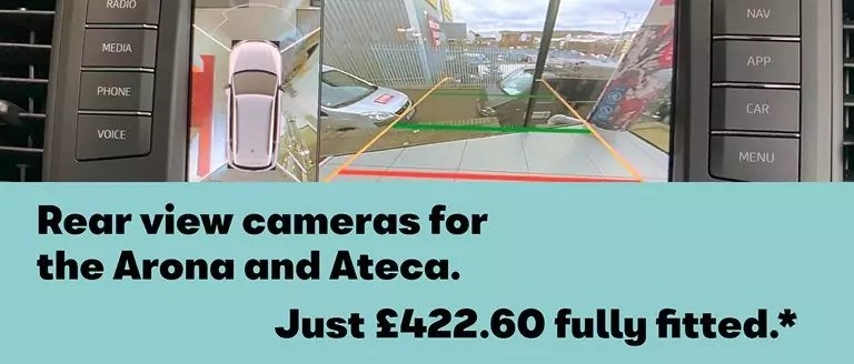 Rear View Cameras For The Arona And Ateca