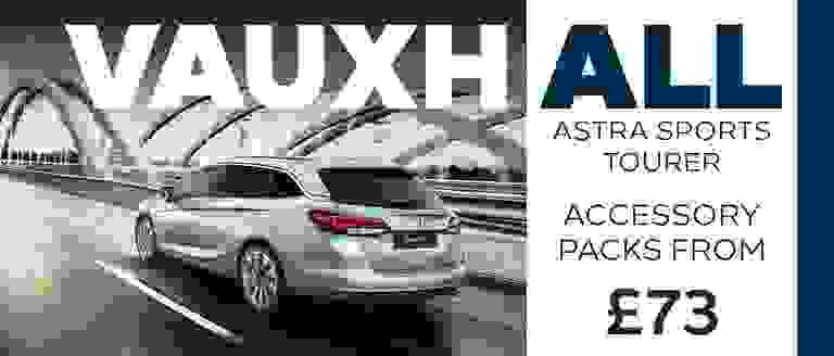 Vauxhall Astra Sports Tourer Accessory Packs