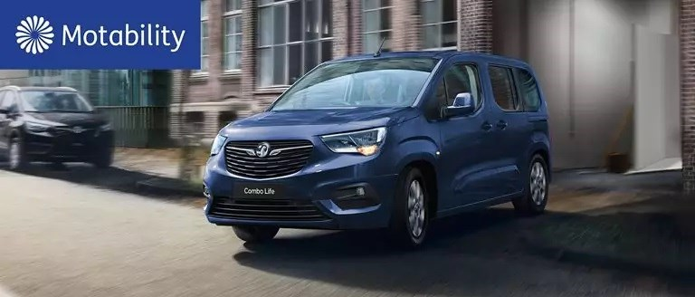 Vauxhall Combo Life Motability Offers