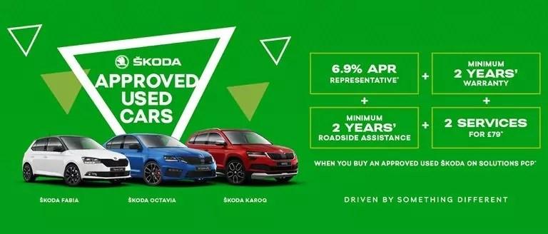 Approved Used ŠKODA Offer
