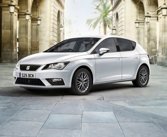 The SEAT Leon FR with £3,000 towards your deposit.