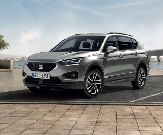 The SEAT Tarraco with up to £2,500 towards your deposit