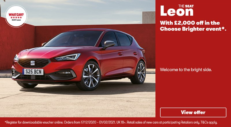 New SEAT Leon with £2000 off