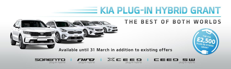 Kia Plug-In Grant Q1 2021