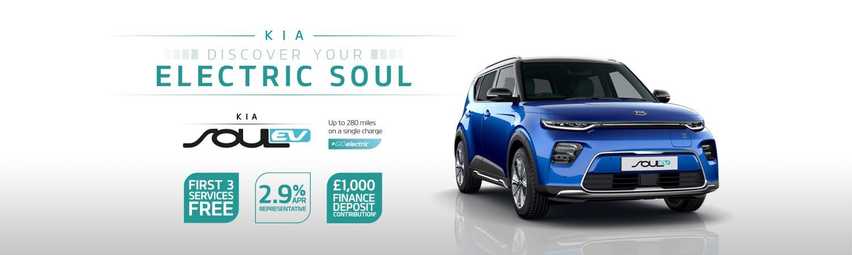 Kia Soul EV First 3 Services Free Q1 2021