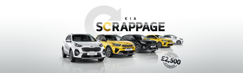 Kia Scrappage Trade in your old car 2021