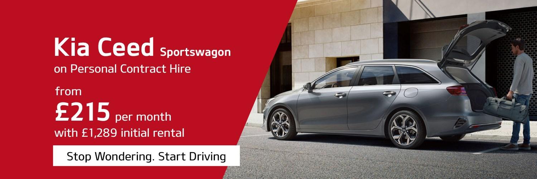 Kia Ceed Sportswagon PCH Q1 2021 offer