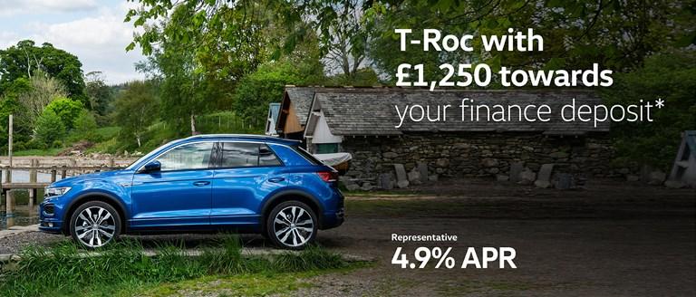 Volkswagen T-Roc Finance Offer