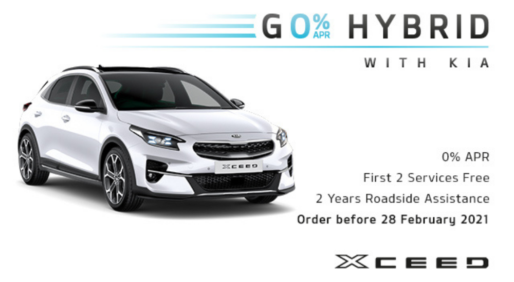Kia XCeed Hybrid with offer