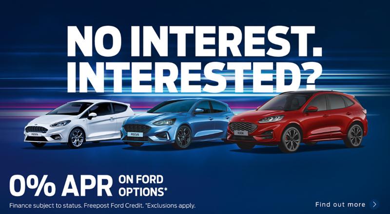 Ford No Interest Offer