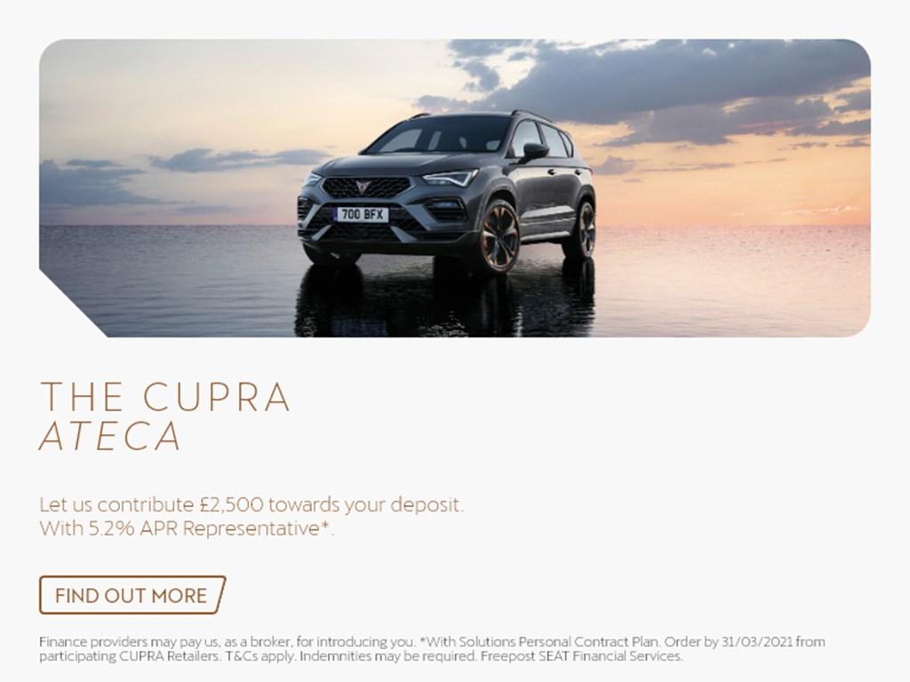 Cupra Ateca New Car Offer