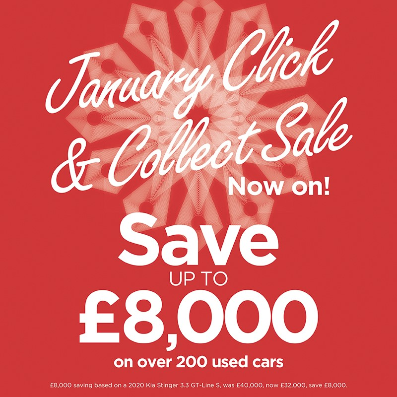 January Click and collect sale