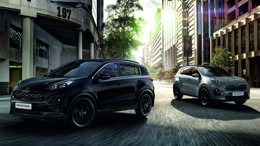 Kia reveals stylish new Sportage 'JBL® Black Edition'